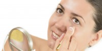 Woman Using Concealer